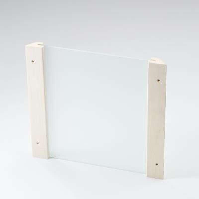 Infraworld Eckblendschirm Design Espe ESG Glas für Sauna Saunazubehör S2280