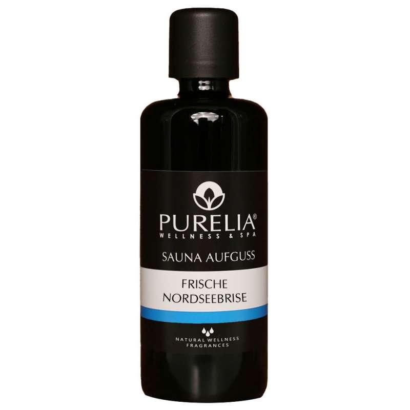PURELIA Saunaaufguss Konzentrat Nordseebrise 100 ml natürlicher Sauna-aufguss - reine ätherische Öle