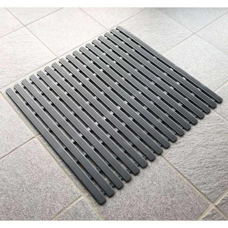 Arend Rollrost aus PVC in schwarz 100 cm breit