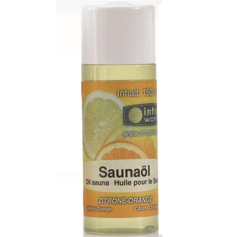 Infraworld Saunaöl Zitrone Orange Saunaaufguss Saunaduft 150 ml S2263-3