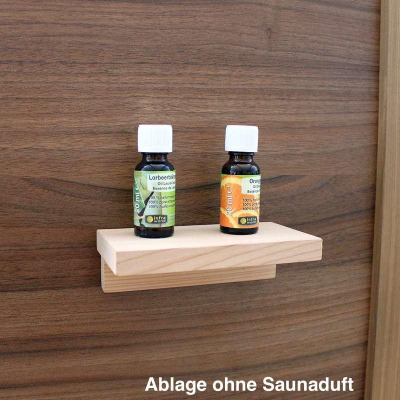 Infraworld Saunaregal Ablage Design 150 in Espe 46 x 150 x 80 mm S2237-2