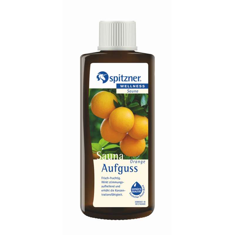 Spitzner Saunaaufguss Orange 190 ml 8850024